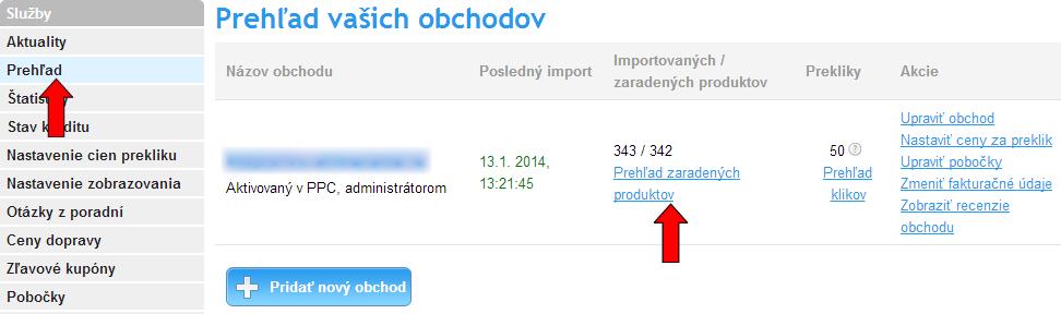 parsovanie produktov na heureka.sk