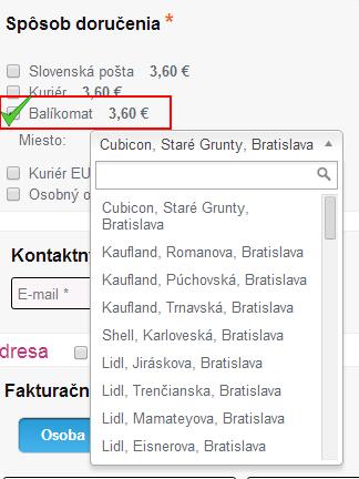 balíkomat v cms flox 2.0, balíkomat v biznisweb.sk