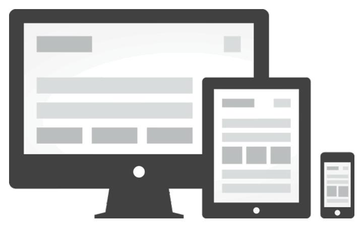 vytvoření unikátní šablony webu, tvorba grafického designu