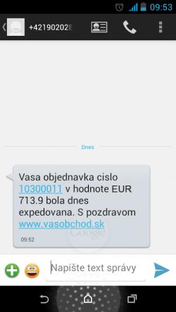 sms brána vo flox 2.0