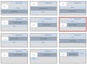 možnosti menu vo Flox 3
