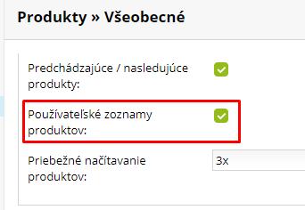 Deaktivácia obľúbených produktov | Inteo.sk
