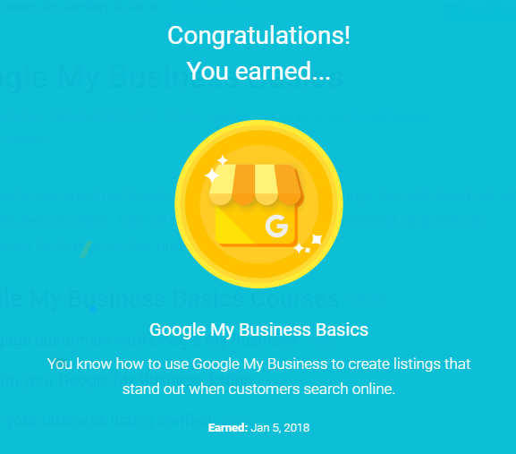Google My Business academy