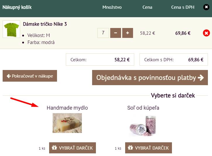 bonusový systém v e-shope