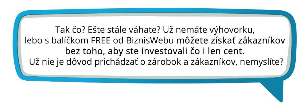 Balik FREE   eshop a web for free pre vsetkych dbca3226853