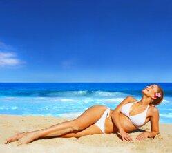 Biele bikini