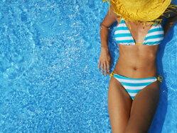 Bikini farebné